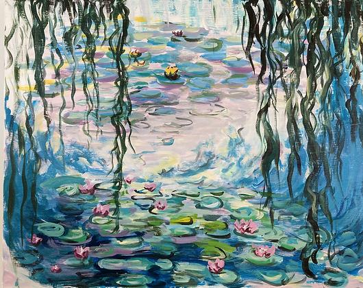 Impressionist Monet's Waterlilies - Video Recording