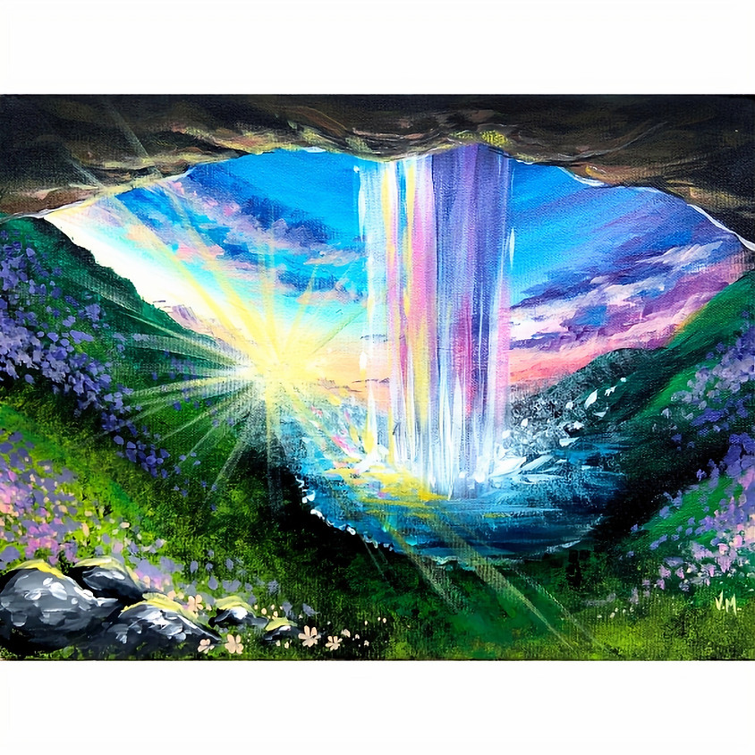 Spring Cave Waterfall