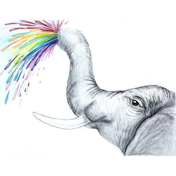 HB Pencil Elephant - Nature Week