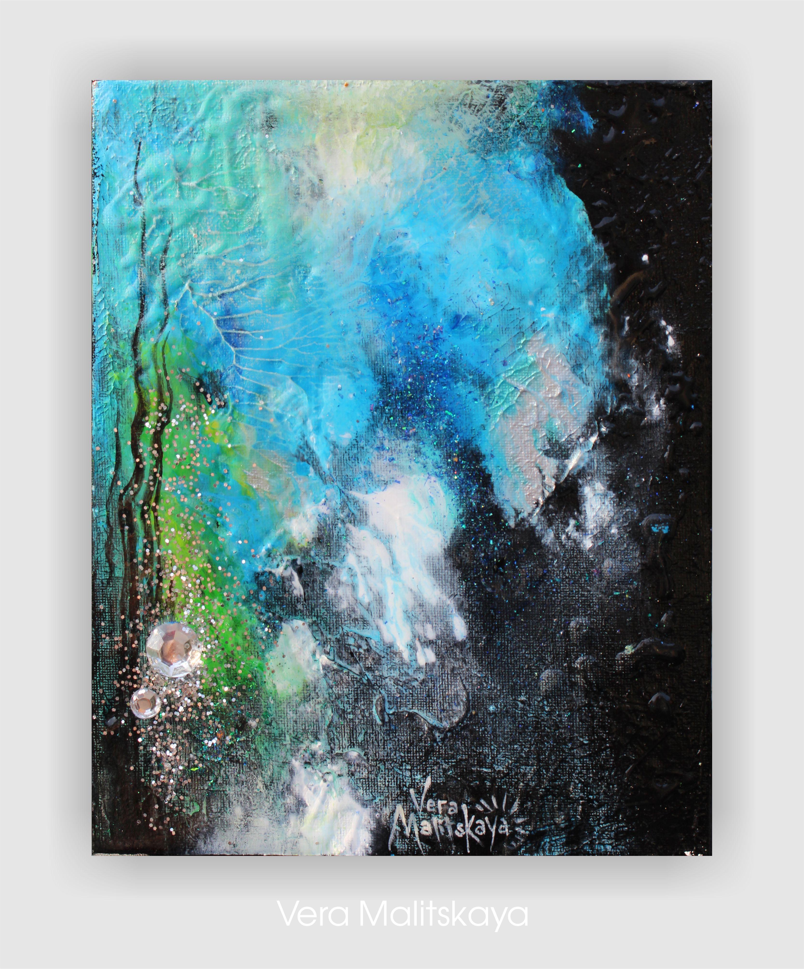 """Magic Silver"" Abstract Series"