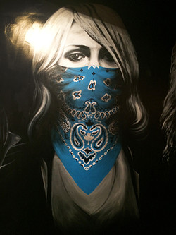 """""""Emily Haines"""" Wall Mural Painting"""