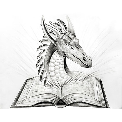 Dragon Tales HB Pencil Drawing - Video Recording