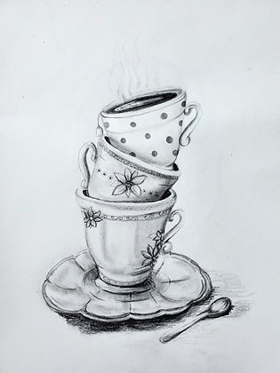 Tea Time Drawing - Video Recording