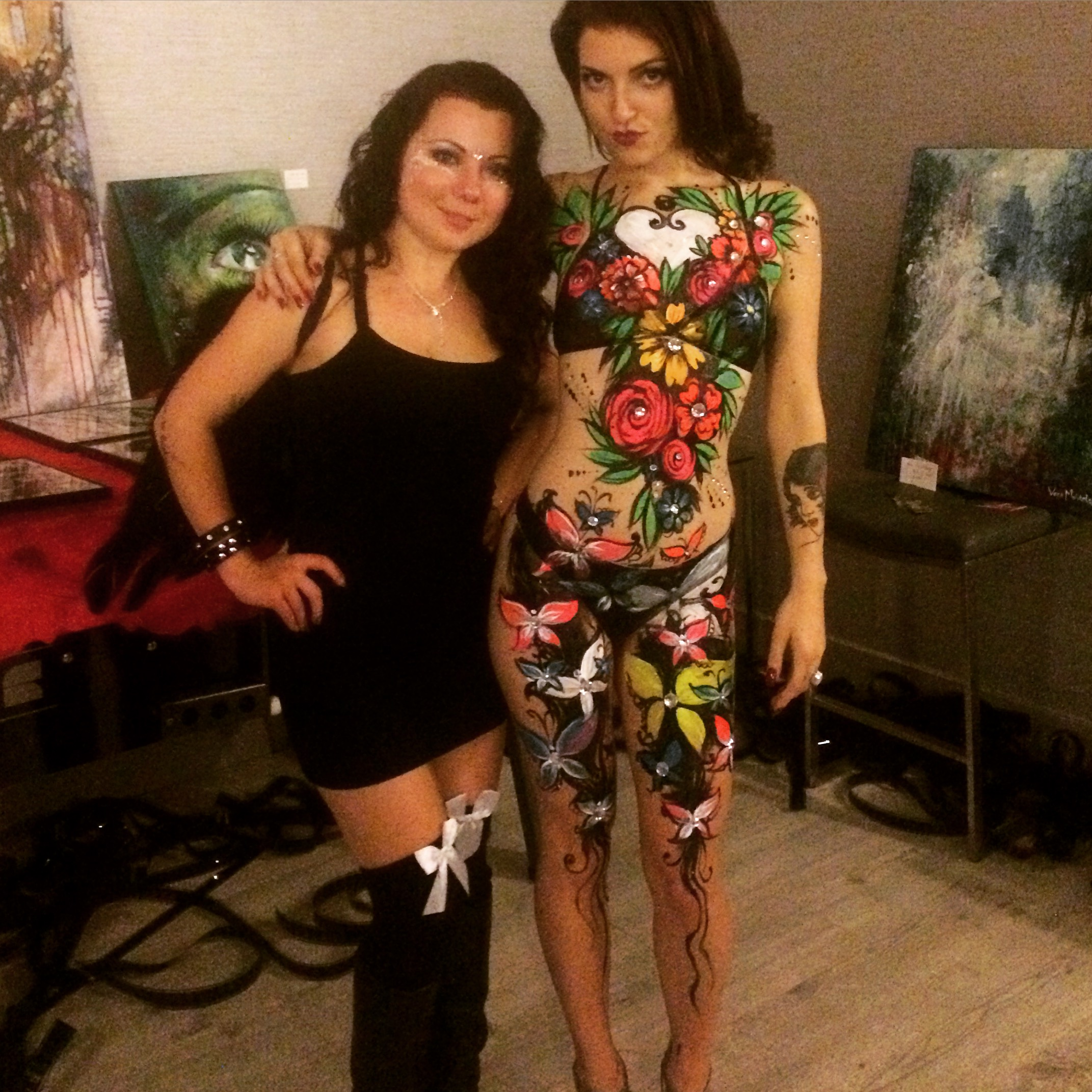 Live Body Painting