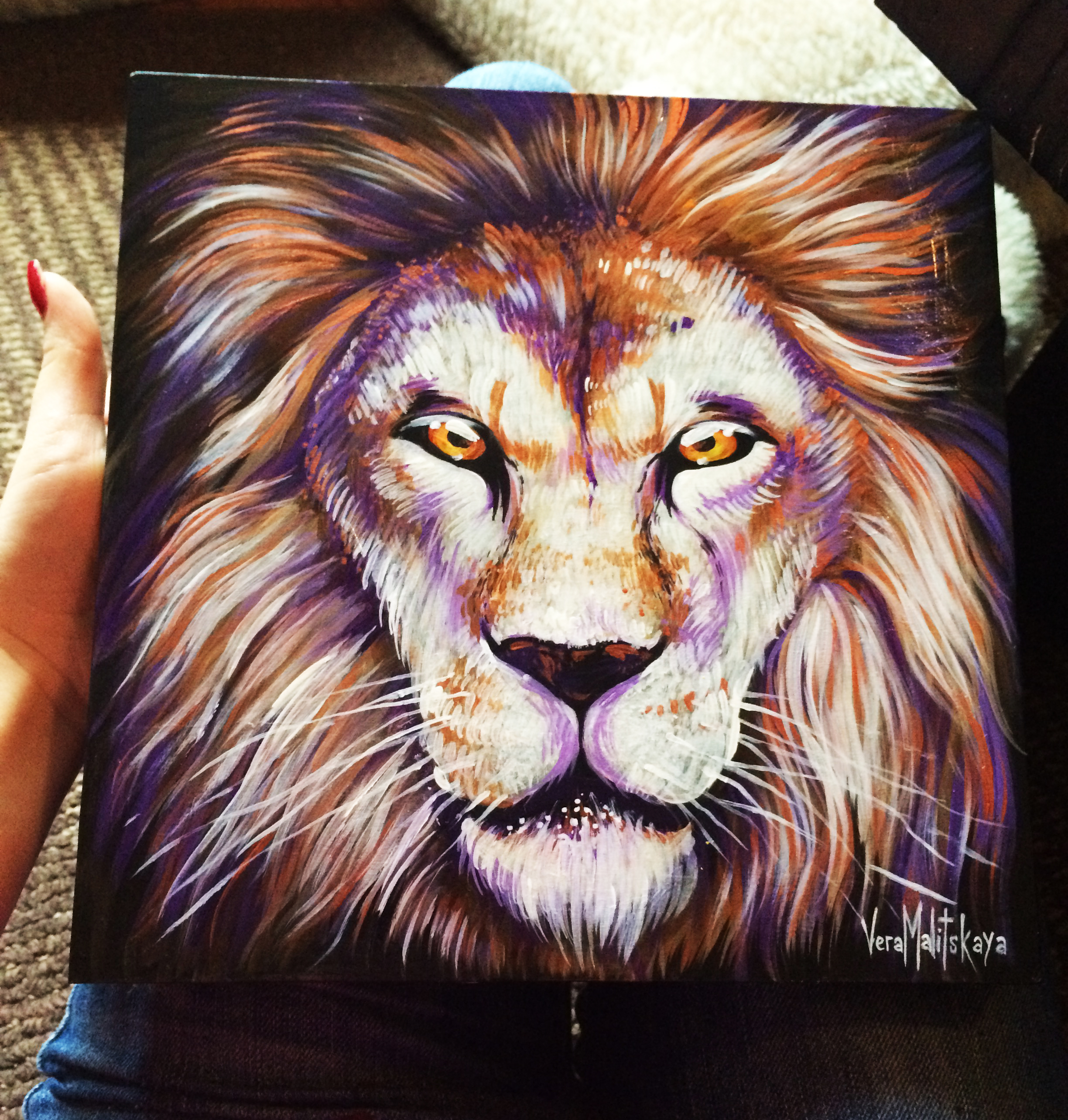 Lion animal portrait