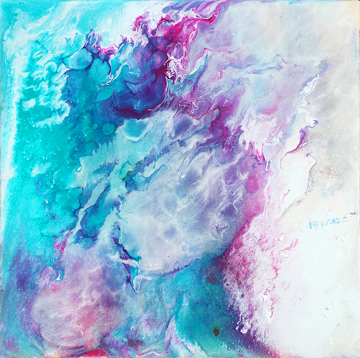 Acrylic fluid series #8
