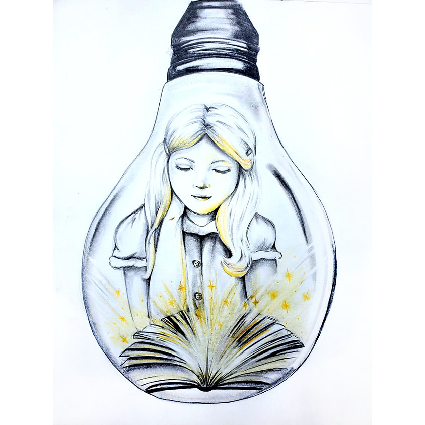 The Magic of Reading - Drawing
