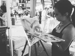 Live Painting at TORONTO CIDER FESTIVAL
