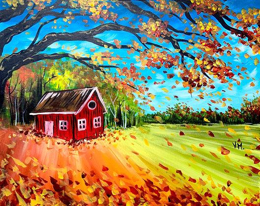 Autumn Cottage - Video Recording