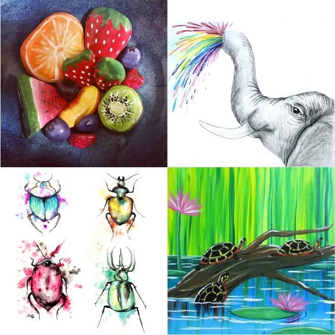 Nature Week  - Virtual Art Camp