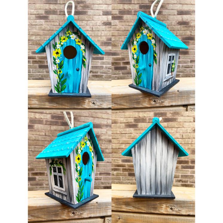 Paint A Birdhouse