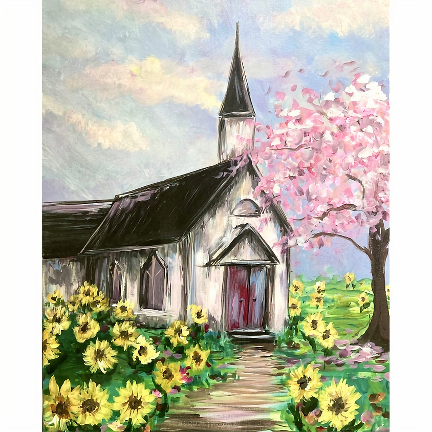 Sunflowers at the Old Chapel