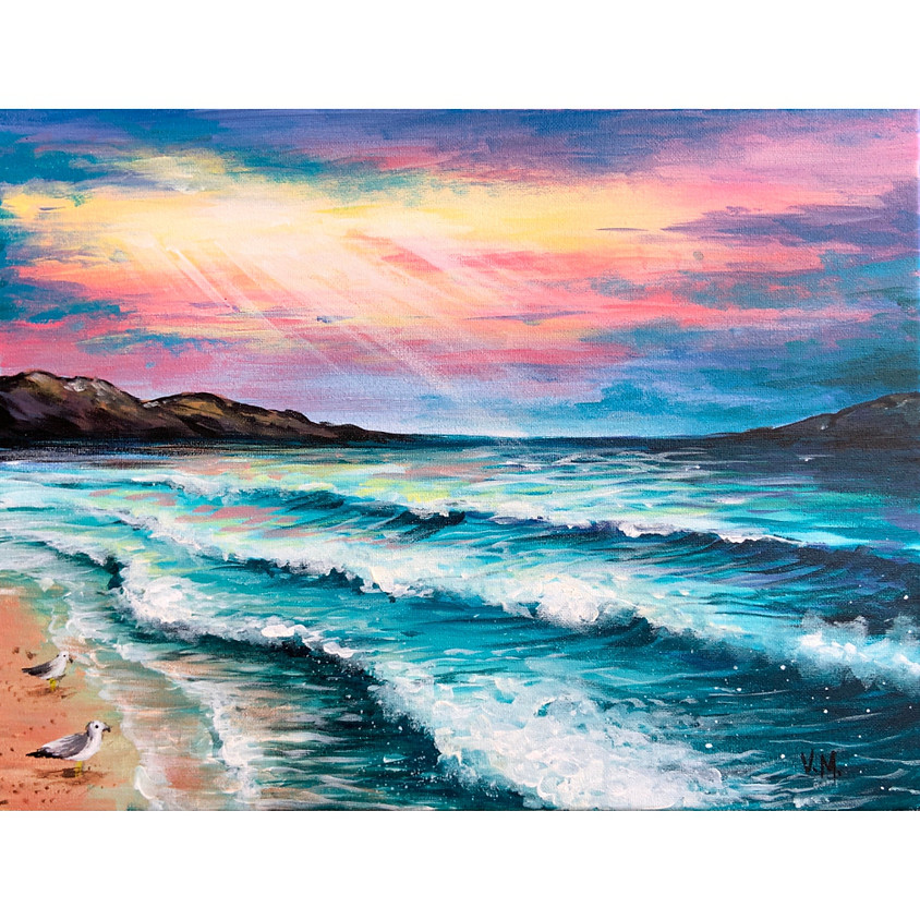 Glorious Beach Sunset