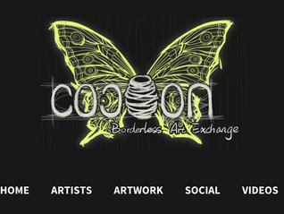 Now you can see and purchase some of my artworks at Cocoon Borderless Art Exchange