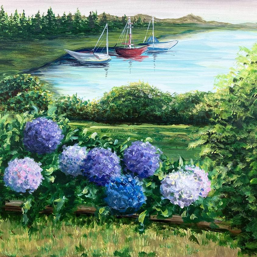 Cape Cod Hydrangeas