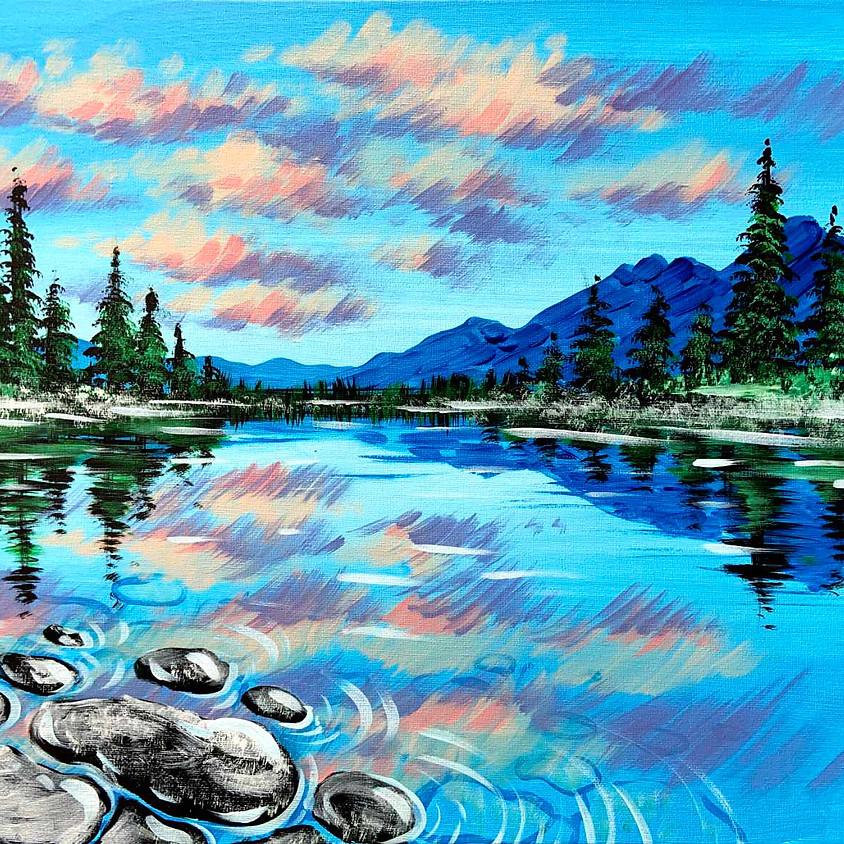 Serene Lake Landscape
