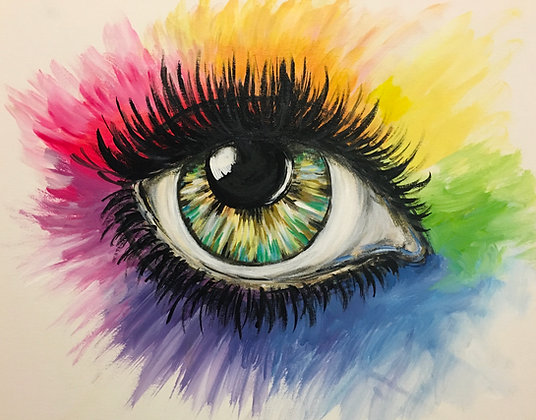 Rainbow Eye - Video Recording
