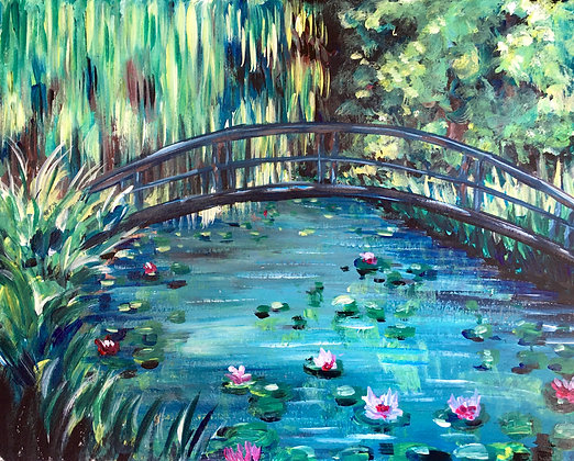 Monet's Waterlilies - Video Recording