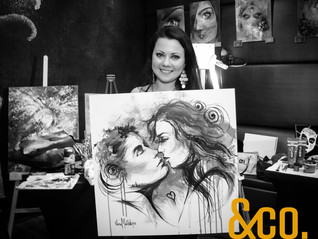 Live Painting Competition at &Co Resto Bar