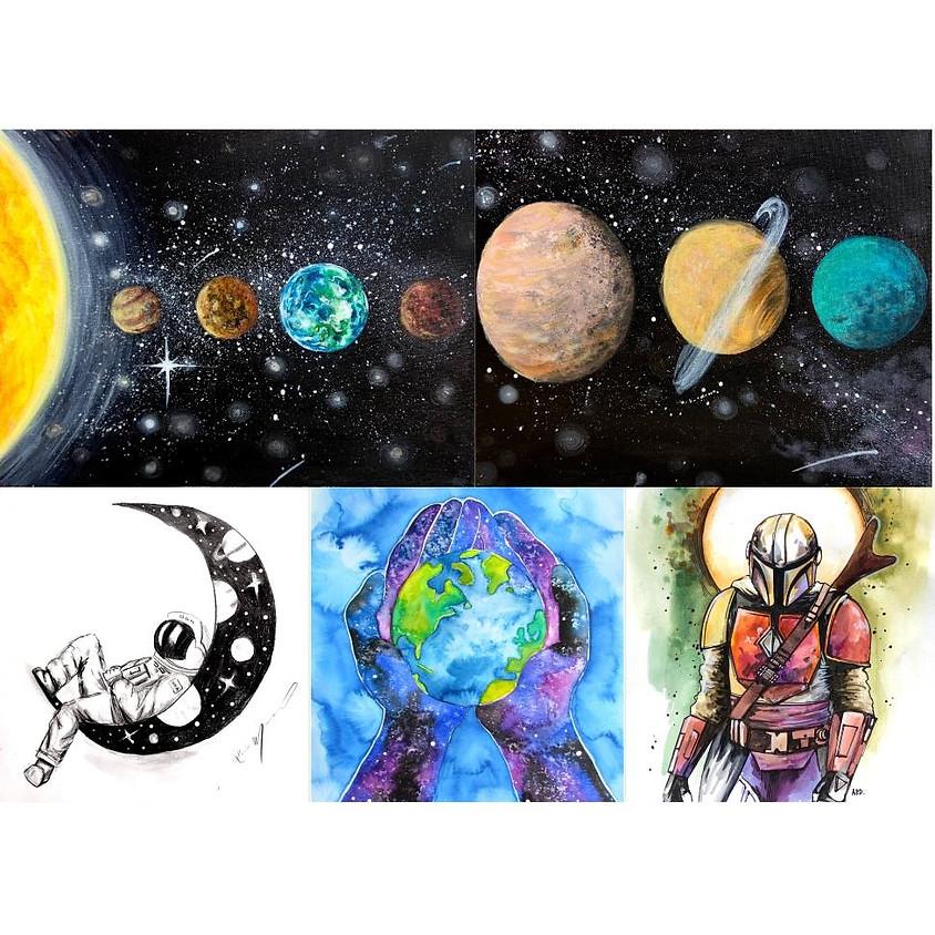 Outer Space Virtual Art Camp Bundle