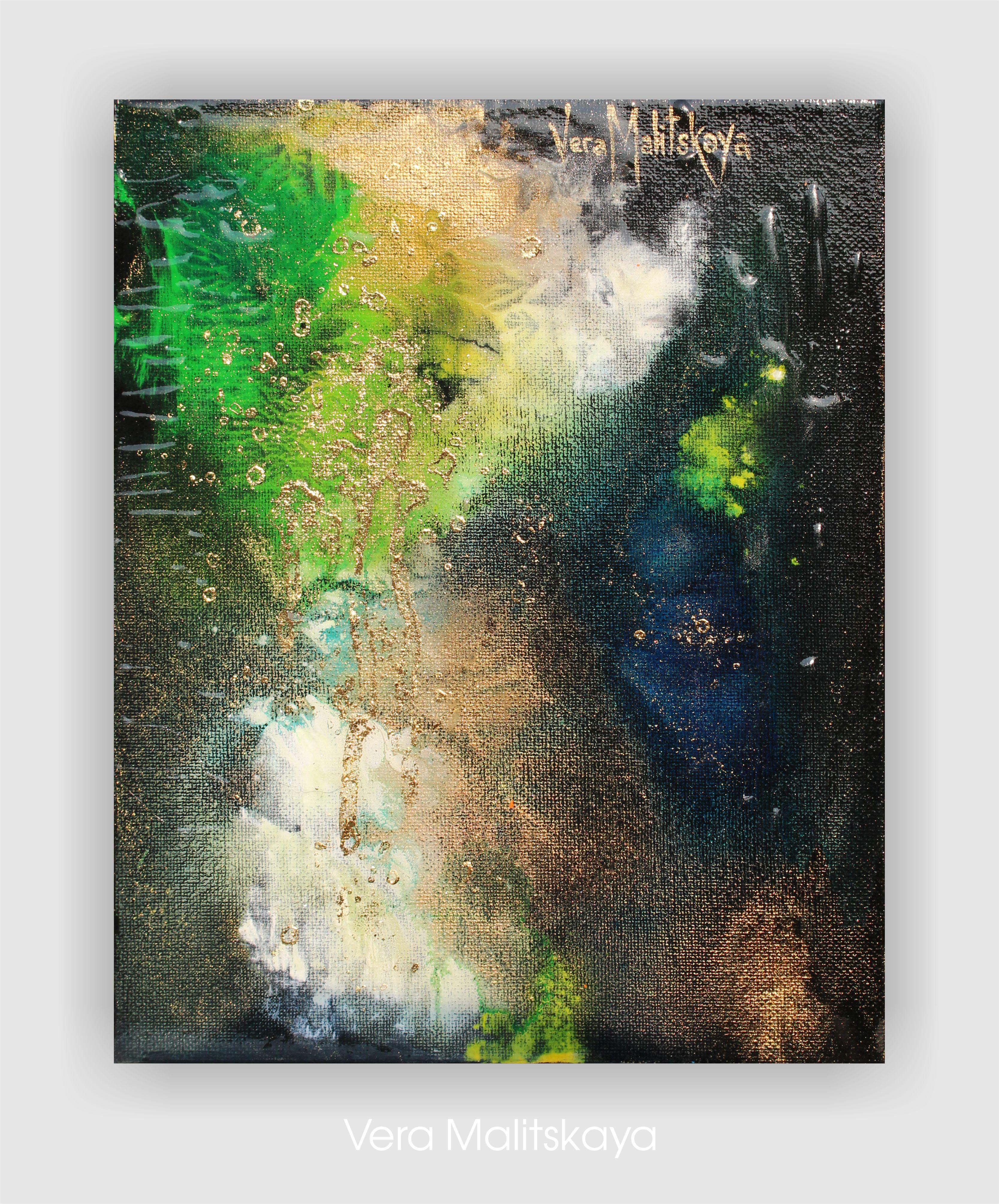 """MAGIC Gold"" Abstract Series"