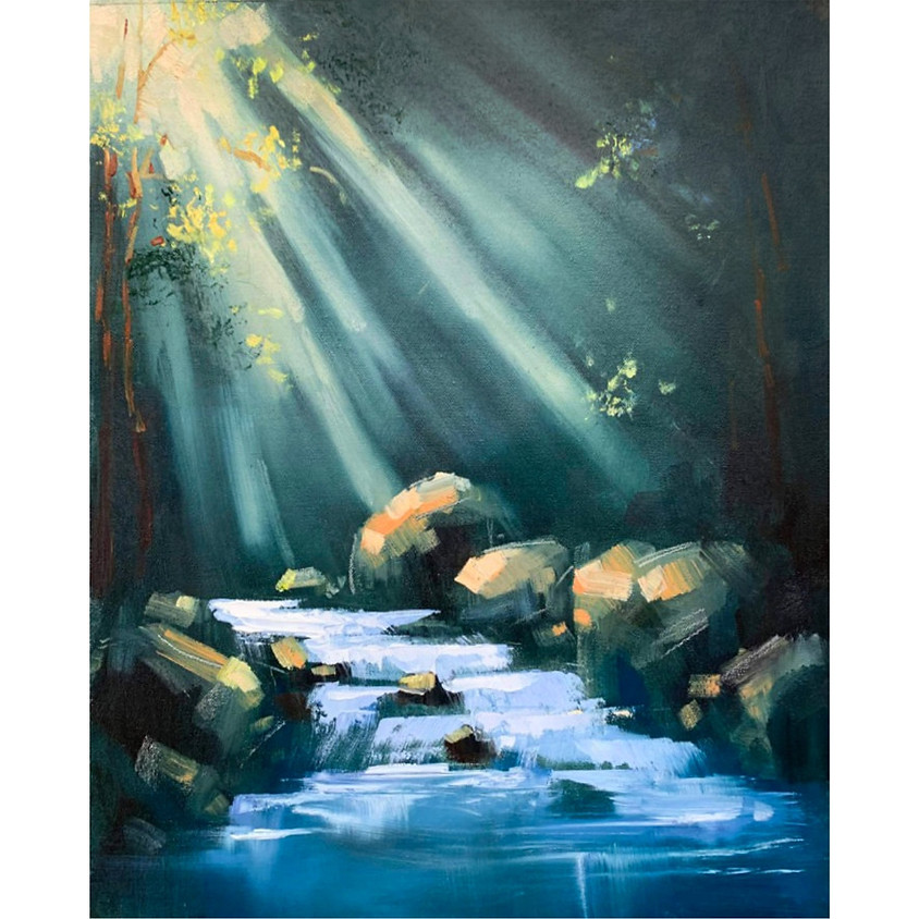 Forest Magic - Oil Painting
