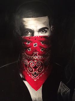 """""""Drake"""" Wall Mural Painting"""