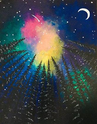 Colourful Galaxy - Video Recording