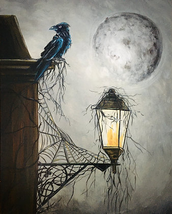 The Lantern, the Crow and the Spiders Web - Video Recording