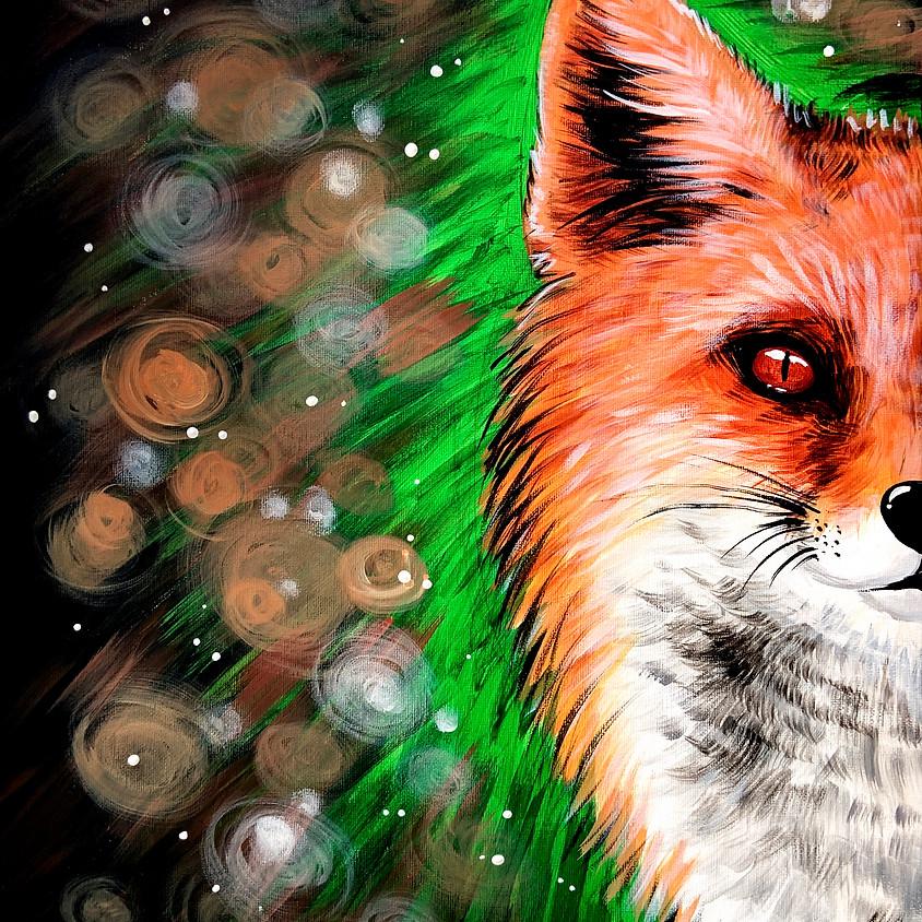 Bokeh Fox