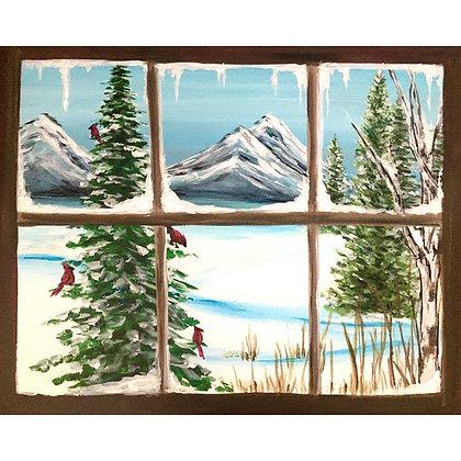Cabin Window View - Video Recording