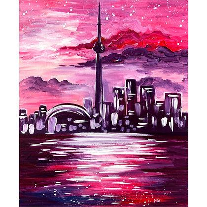 Toronto in Purple - Video Recording