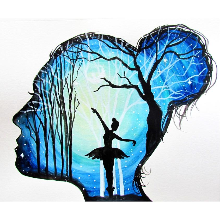 I Dance In My Dreams - Watercolour