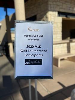 2020 M.L.K. Golf Tournament