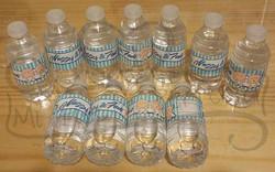 Botellitas de agua pura personalizadas