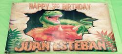 Banner Dinosaurios