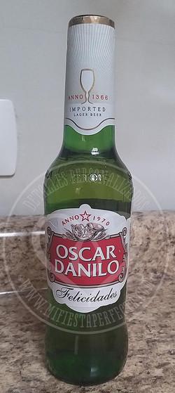 botella de cerveza personalizada
