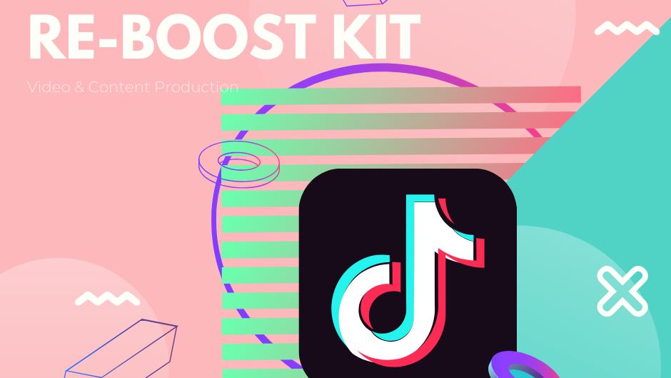 Tik Tok Short Ads Video Content- Re-Boost Kit