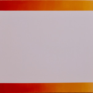 """Gianluca Cosci """"Removed"""" 2015. Oil on canvas 100 x 150 cm"""