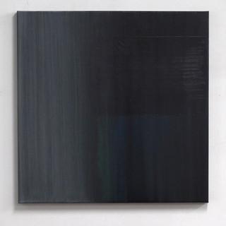 """Gianluca Cosci """"Veiled #11"""" 2020. Oil on canvas 80 x 80 cm."""