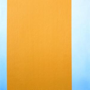 "Gianluca Cosci ""Double Negative"" 2014. Oil on canvas.  80 x 55 cm."