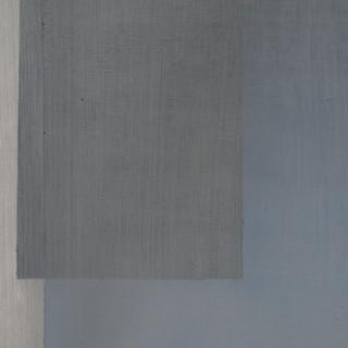 "Gianluca Cosci ""Whitewashing #9"" 2019. Oil on canvas 60 x 35 cm."