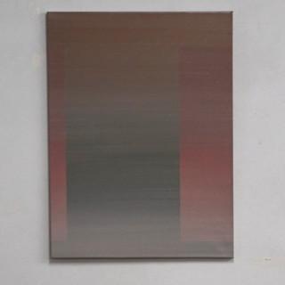 """Gianluca Cosci """"Veiled #7"""" 2020. Oil on canvas 80 x 60 cm."""