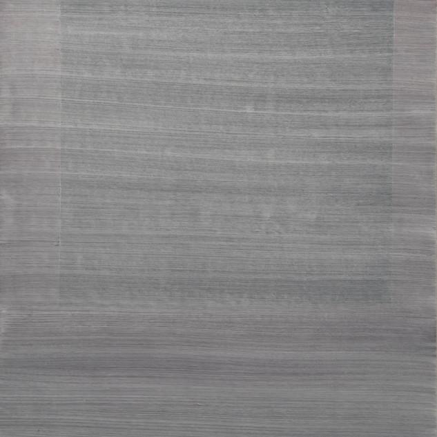 "Gianluca Cosci ""Whitewashing #5"" 2019. Oil on canvas 100 x 50 cm."