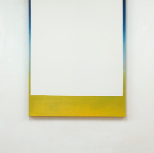 """Gianluca Cosci """"Removed"""" 2017. Oil on canvas 150 x 100 cm"""
