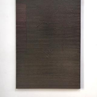 """Gianluca Cosci """"Veiled #21"""" 2020. Oil on canvas 140 x 90 cm"""