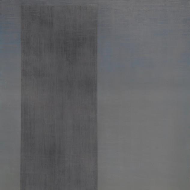"Gianluca Cosci ""Whitewashing #15"" 2019. Oil on canvas 60 x 35 cm."