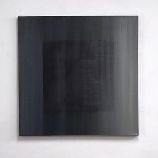 """Gianluca Cosci """"Veiled #15"""" 2020. Oil on canvas 100 x 100 cm."""