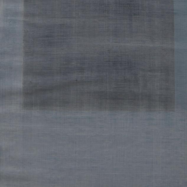 "Gianluca Cosci ""Whitewashing #35"" 2019. Oil on canvas 60 x 20 cm."