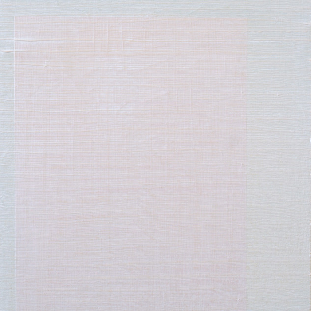 "Gianluca Cosci ""Whitewashing #1 "" 2014. Oil on canvas on cardboard.  50 x 35 cm."